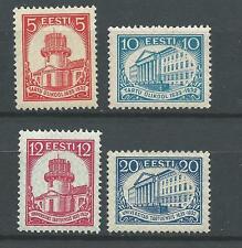 Estonia. 1932.  Mi 94-97 .   MNH