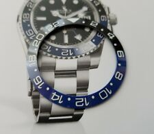 Ghiera per rolex GMT batman in CERAMICA dimensioni 38 mm.