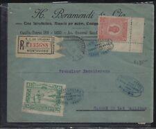 PARAGUAY  (PP2604B)  1925 5C+45C REG A/M COVER