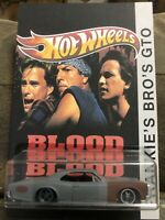 PREMIUM Hot Wheels CUSTOM GTO BLOOD IN BLOOD OUT Custom Card REAL RIDERS