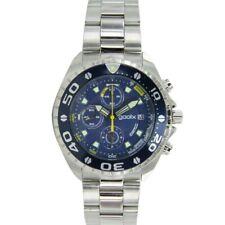 gooix Herren Uhr Armbanduhr Chrono Edelstahl Analog GX01102505 NEU