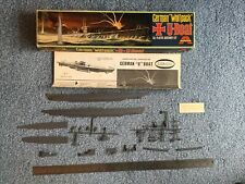 "Aurora 1:209 German ""Wolfpack"" U-Boat kit #716"