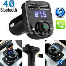 Portable Bluetooth 4.0 Car FM Transmitter USB Charger MP3 Player Hands-free Kit