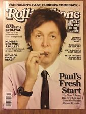 BEATLES Rolling Stone March 1, 2012 Paul McCartney Cover NM VAN HALEN RAMONES