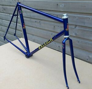 Raleigh SBDU Bespoke Frame Lugless Reynolds 753 with Unique Feature Combination