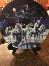Wonder Of The Unicorns Sue Dawe Royal Doulton Franklin Mint Unicorn Plate