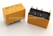 10Pcs Plastic HK19F DC 5V Coil DPDT 8 Pin 2NO 2NC Mini Power Relays PCB Type US