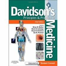 Davidson's Principles and Practice of Medicine: With STUDENT CONSULT Online Access by Brian Walker (Paperback, 2014)