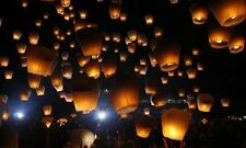 Eco-Friendly sky lanterns great for wedding birthday and all celebrations, 20pcs