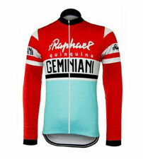 Brand New Team St Raphael Geminiani Fleece Thermal cycling Long Sleeve Jersey