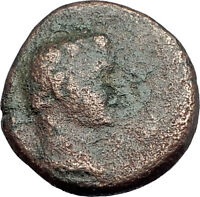 AUGUSTUS 27BC Philippi Macedonia PRIESTS Founding City Oxen Roman Coin i62641