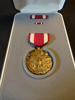 United States U.S. Military Meritorious Service Medal With Bars Ribbon & Box