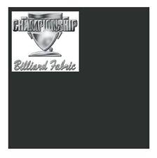 "8' Championship Couture ""Calvin"" Pool Table Cloth (Dark Grey) Billiards Felt"
