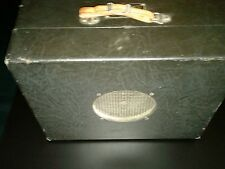 RCA PG 63 A1Tube Amplifier, PB 100, Portable Address System 1930s