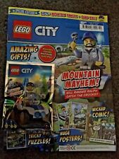 NEW THE LEGO CITY SPECIAL LIMITED EDN MAGAZINE ED 5 WITH MINIFIG + QUADBIKE