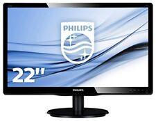 "Philips Moniteur 22"" LED Full HD VGA 223v5lsb2/10"