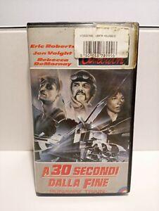 VHS A 30 SECONDI DALLA FINE OTTIME CONDIZIONI