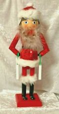 "Lady Shop Till You Drop Christmas Nutcracker 13"" Tall"