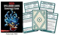 Dungeons & Dragons D&D Next Spellbook Cards, Xanathar's Guide to Everything