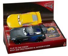 Officiel Disney Cars 3 Race n Flip (Cruz RAMIREZ & Jackson Storm) ** Nouveau **