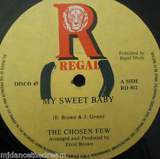 "THE CHOSEN FEW ~ My Sweet Baby ~ 12"" Single"