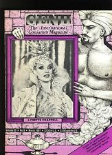 LYNETTE CHAPPELL GENII INTERNATIONAL CONJURORS MAGAZINE MAR1987-contents in post