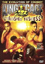 King of the Cage: Unfinished Business, Excellent DVD, Diego Sanchez, Gary Mendoz