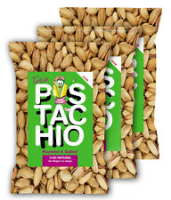 Turkish Antep Pistachios, Salted, 3 One Lb. ,Free Shipping, NEW HARVEST