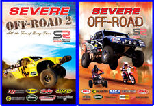 2 - PACK / SEVERE OFFROAD 2 and 1 DVD COLLECTION MOTORSPORTS