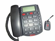 NO MONTHLY FEE EMERGENCY PHONE ALERT LIFE BIG BUTTONS SOS SENIOR *NEW