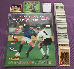 PANINI EURO 96 FULL SET+ALBUM+1PACK - ALL STICKERS FROM THE PACKS!