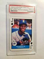 1990 U.S. Playing Card Ken Griffey, Jr All-Star Jack of Spades PSA 9