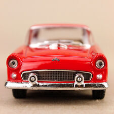 1955 Ford Thunderbird Collectible Model Car Red 1:36 Die-Cast 12.5cm Detailed