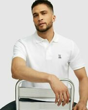 Psycho Bunny Men's Classic Polo Shirt Pique knit, Color White, Size Xs,N.W.T