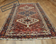 OLD WOOL HAND MADE PERSIAN ORIENTAL FLORAL RUNNER AREA RUG CARPET 307x156CM