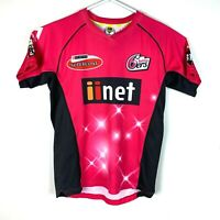 Sydney Sixers Majestic 6ers Jersey Size Men's Small BBL Cricket