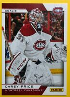 2013-14 Panini Toronto Expo Card #6 Carey Price Montreal Canadiens Redemption