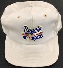 Vintage Kansas City Royals 1985 MLB WORLD SERIES Champs Champions snapback Hat