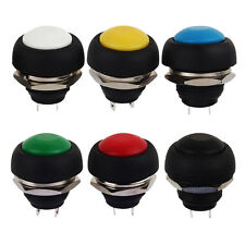 Waterproof Momentary Push Make Button Switch Off Car Boat Doorbell Selling