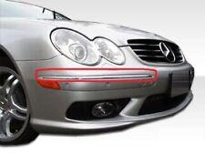 Neu Original Mercedes CLK W209 AMG Vorne Stoßstange Blenden Chrom Zierleiste