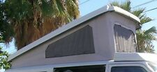 New 3-Window Replacement Pop Top Acrylic Canvas for the VW Eurovan Full Camper