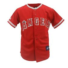 2dd7beb7895 Los Angeles Angels Genuine MLB Majestic Apparel Kids Youth Size Jersey New  Tags
