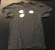 Threadless Piggy Bank Heist Mens T-Shirt Medium M Rare Out of Print