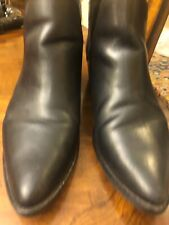 steve madden  Womens booties 10 Black Leather