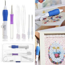 Magic Threaders ABS Plastic DIY Punch Needle Embroidery Pen Set Sewing Knitting