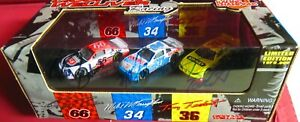 RARE, 1/64 R/C SET, CICCI WELLIVER RACING, AUTOGRAPHED BY ALL THREE DRIVERS