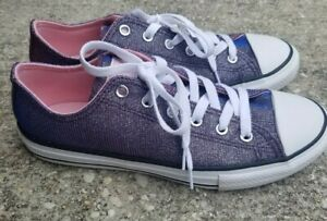 Converse All Star Women's Shoes Size 5 Pink and Purple Sparkle