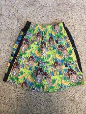 Flow Society Youth Xl Island Flow Lacrosse Shorts Mad Monkey, 2 Pockets Kd7