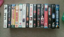 Job Lot: 7 VHS Video CLASSICS Bad Boys, Fever Pitch Face Off Wild Things Scream