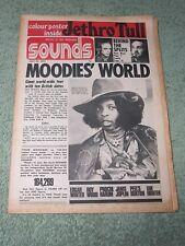 SOUNDS 28th July 1973 ~ Jethro Tull + POSTER ~ Van Morrison ~ Janis Joplin!